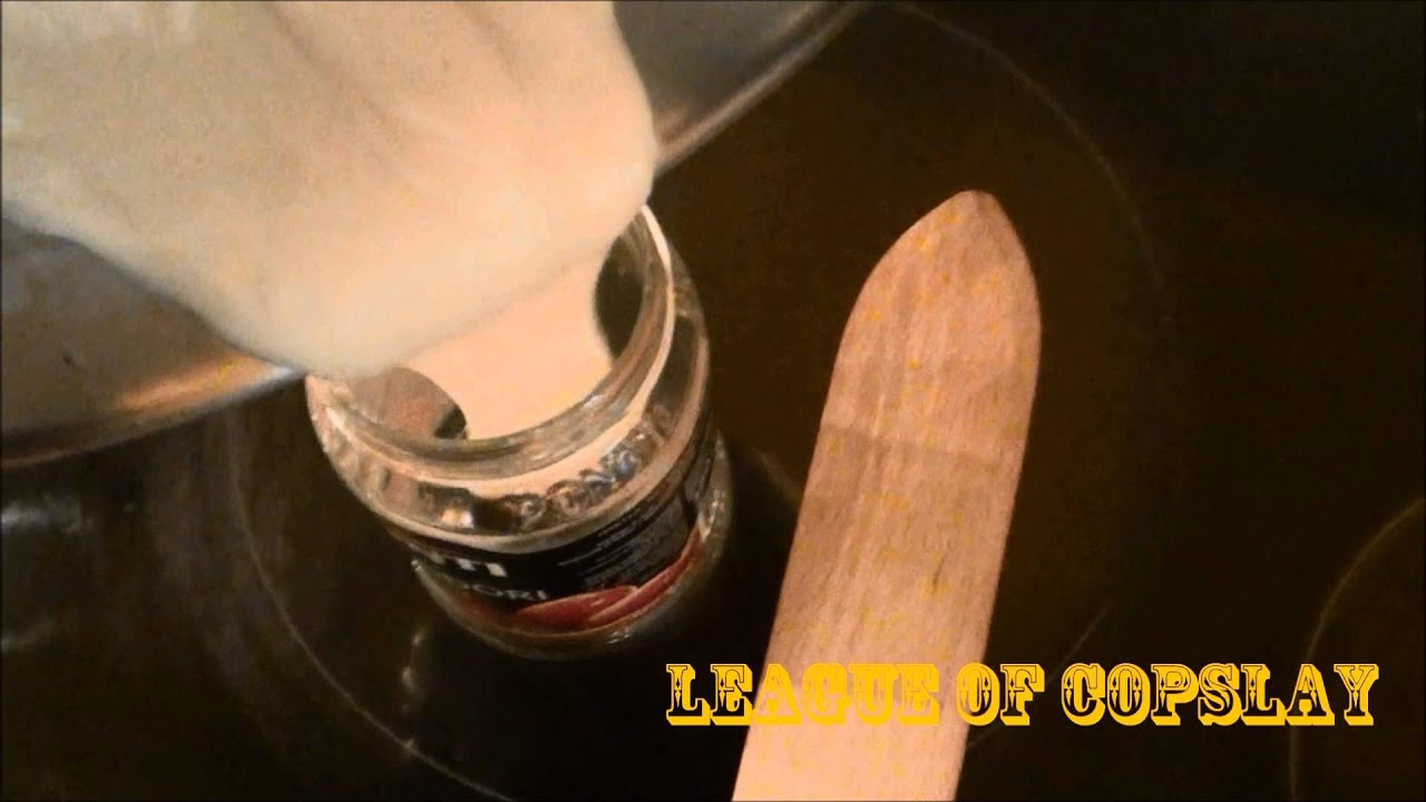 (TUTO) Réalisation d'une colle fait maison - YouTube