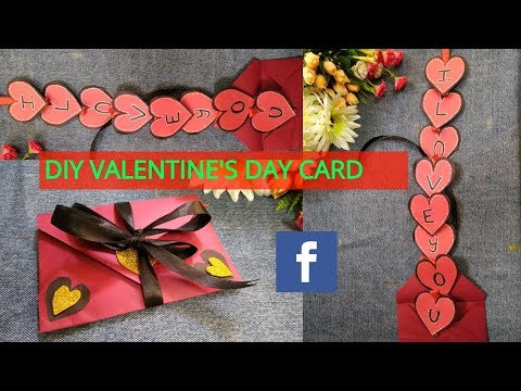 DIY Love Envelope Card | Valentines Day Special Card 2019 | Super Easy Card Idea