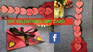 DIY Love Envelope Card | Valentines Day Special Card 2019 | Super Easy Card Idea
