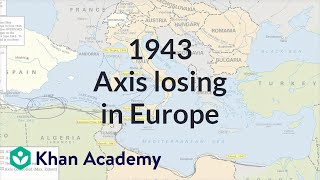 1943   Axis Losing In Europe