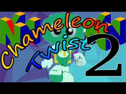 Let's Play N64: Chameleon Twist ➤ Episode 2 - Its Growing On Me