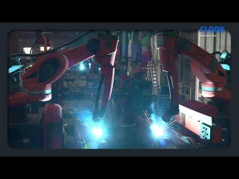 CLOOS - Robots Increase Productivity At Zhengzhou Coal Mining