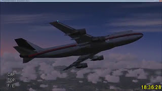 【音声再編集】日本航空123便墜落事故 RJTT-RJOO JA8119【機外視点】