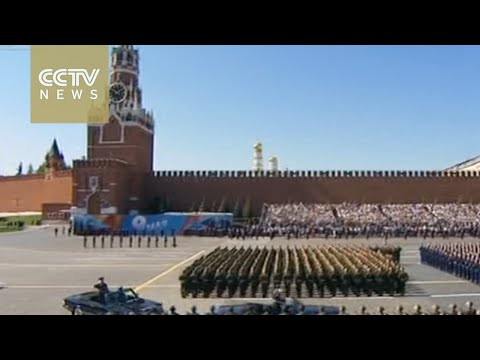 Victory Day: Military parade held on Moscow's Red square