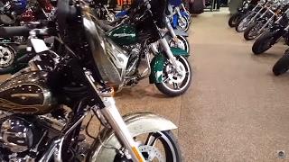 Мотоциклы Harley Davidson.  Магазин в США