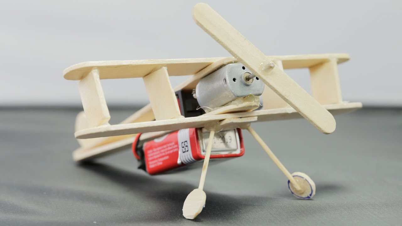 how to make a toy train with motor