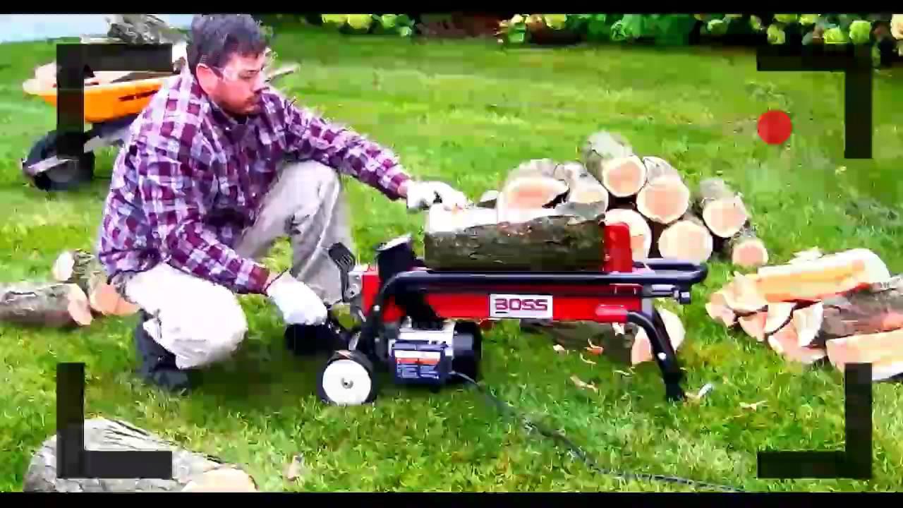 Boss Industrial Es7t20 7 Ton Reciew Electric Log