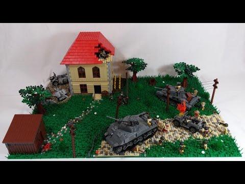 LEGO WW2 MOC Operation Market Garden   HD