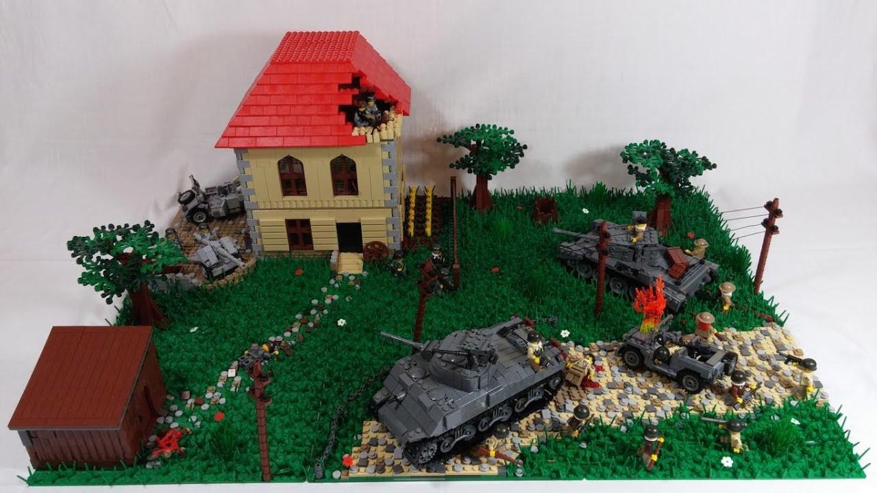 Lego Ww2 Moc Operation Market Garden Hd Youtube