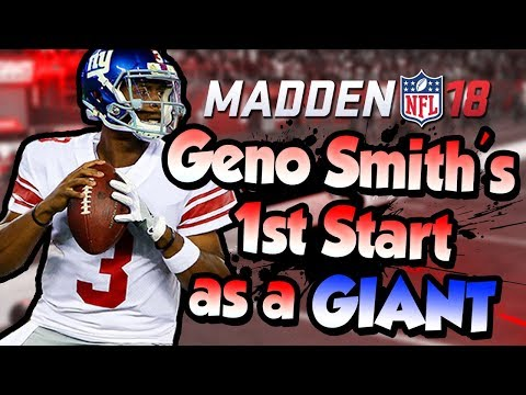 Madden 18 :: Geno Smith