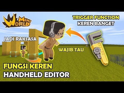 FUNGSI HANDHELD EDITOR KEREN UPDATE API TRIGGER FUNCTION 0.37.1 - MINI WORLD BLOCK ART ( TUTORIAL ) thumbnail