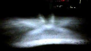 Как светит светодиодная фара головного света 7 дюймов (рефлектор)(Подробное описание http://ledbalka.ru/goods/Svetodiodnye-LED-fary-golovnogo-sveta-7-dyujmov-reflektor., 2015-12-08T21:03:58.000Z)