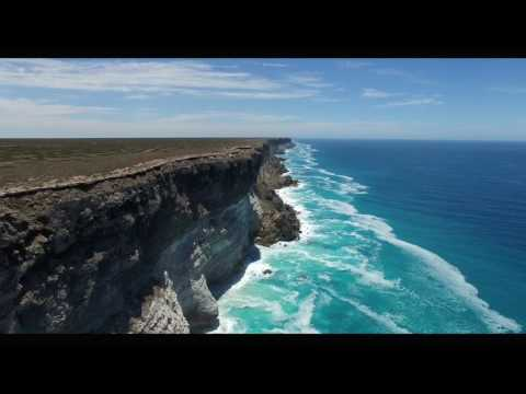 The Great Australian Bight by Quadcopter