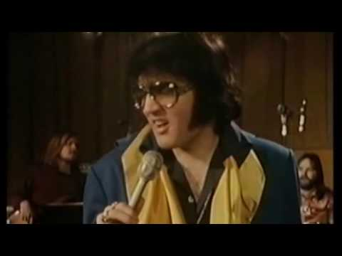 † Tribute to Elvis Presley - 50's Medley (  Rehearsal Hollywood 1972)