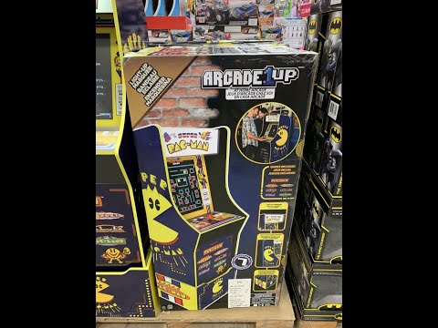 Unboxing Pac-Man Arcade1up game bundle (from Costco) - Including quick view of instructional booklet from sonnyrocker