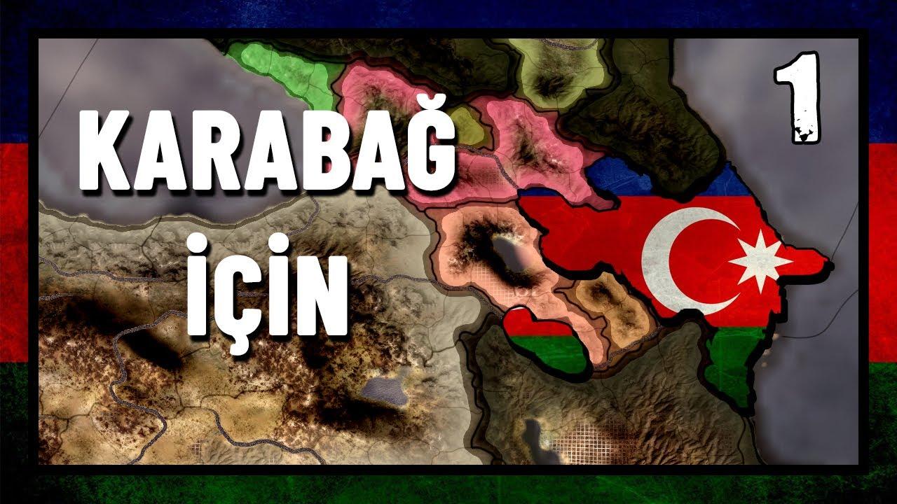 KARABAĞ İÇİN - GÜNÜMÜZ MODU AZERBAYCAN#1 | HEARTS OF IRON 4