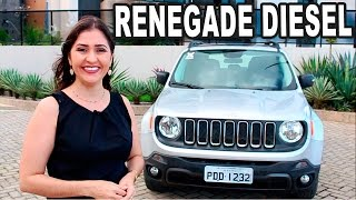Test Drive Jeep Renegade Sport Diesel em Detalhes