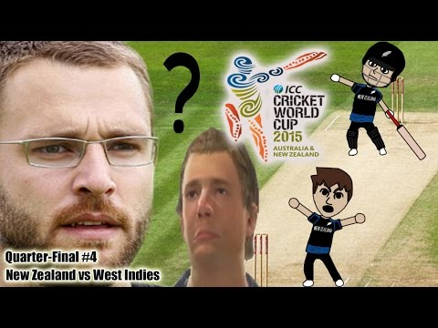 Cricket World Cup 2015 Quarter-Final #4 Prediction Special - New Zealand vs West Indies
