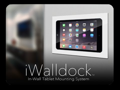 iWalldock - Simplidock iPad Tablet In-Wall Smart Home Touchscreen Control Dock Mounting System