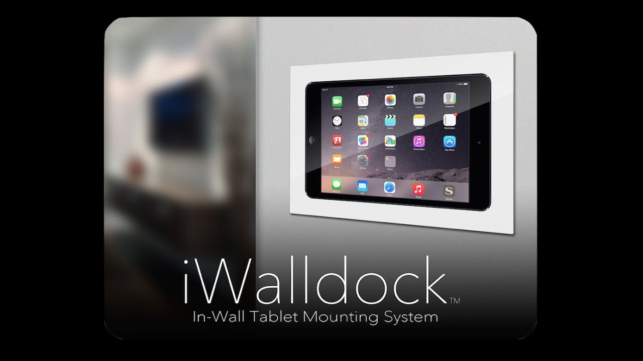 iWalldock - Simplidock iPad Tablet In-Wall Smart Home ...
