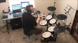 Back In Black Drum Cover (Roland TD-9K2-S V-Drums)
