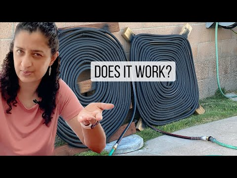 DIY Solar Pool Heater - Simple & Easy Design - Did it work? | Anika's DIY Life