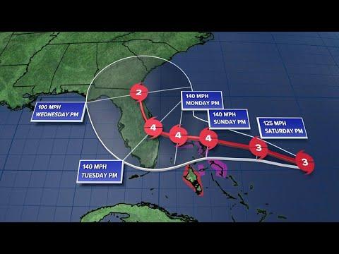 Hurricane Dorian latest update: storm strengthening rapidly