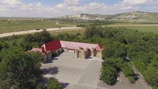 Крымъ 4К: Строительство трассы «Таврида» подъ Бѣлогорскомъ и брошенный паркъ Зубкова
