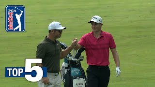 Aaron Wise's eagle hole out leads Shots of the Week 2018