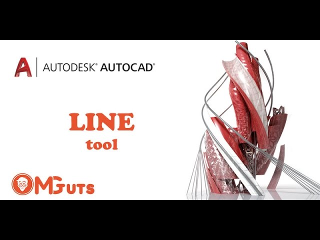 Free Autocad video Tutorials - Line tool