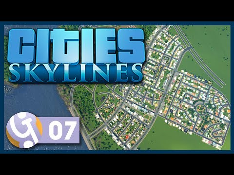 🏡 British Style Housing Estate | Let's Play Cities: Skylines #07