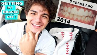 GETTING BRACES OFF AFTER 5 YEARS :VLOG#247