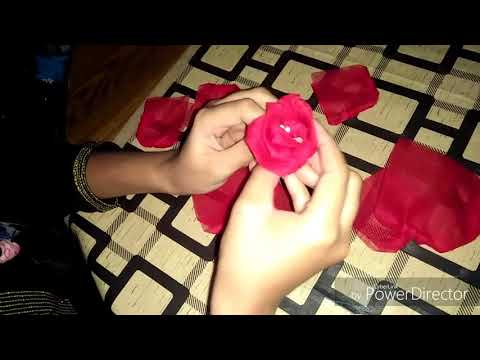 How to make a beautiful flower basket at home!!!
