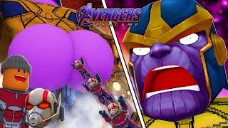 Roblox Animation- THANOS VS ANT-MAN (Avengers Endgame)
