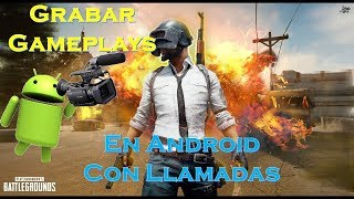 How to Record Gameplay with calls on Android Pubg Mobile/Fortnite/Free Fire