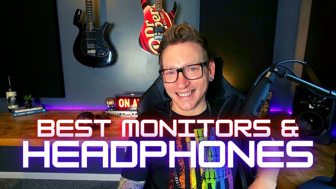 Best Computer, Monitors, & Headphones for Home Recording