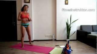 Тренировка 550 повторения 40 минути за цялото тяло