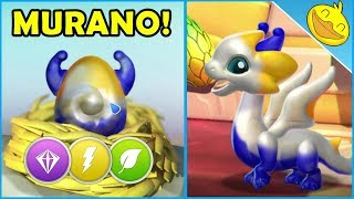 Legendary MURANO + CARMINE DRAGONS Hatching & Battles! - DML #1148