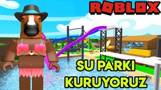 We Are Building Our Own Water Park 🌊 🌊 | Waterpark Tycoon | Roblox English