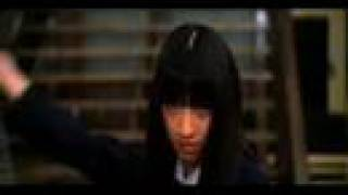 Schoolgirl bodyguard (Gogo Yubari) fights Black Mamba 栗山千明 動画 12
