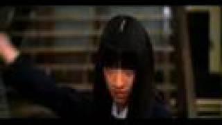 Schoolgirl bodyguard (Gogo Yubari) fights Black Mamba