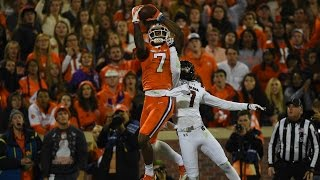 Clemson WR Mike Williams Out-Muscles South Carolina For Three First Half TDs | CampusInsiders