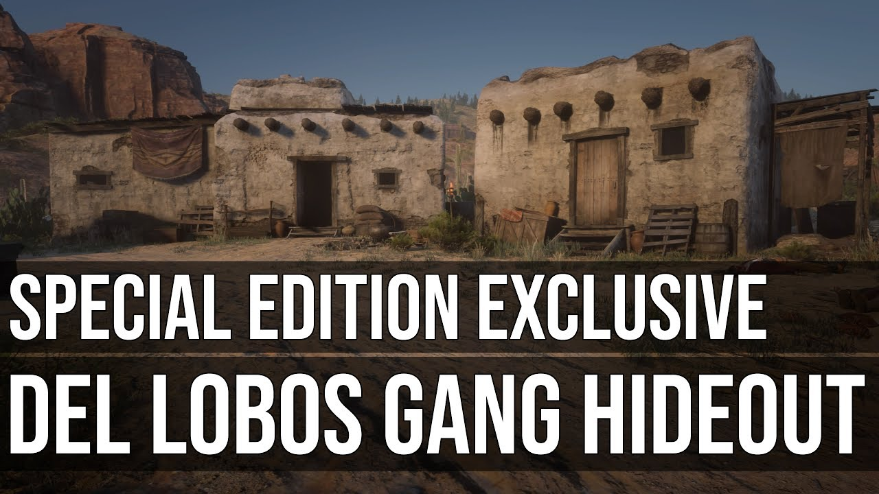 Special Edition Bonus Content Exclusive Del Lobos Gang Hideout Red Dead Redemption 2 Youtube