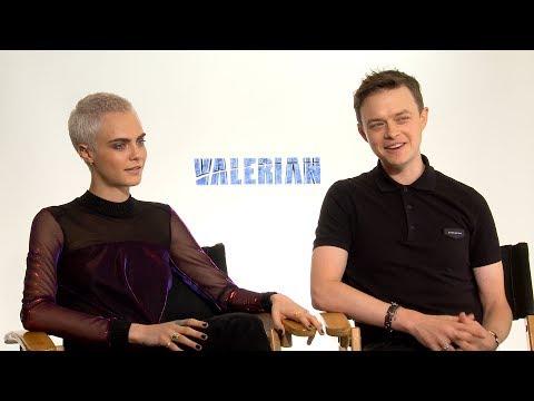 Dane DeHaan & Cara Delevingne Talk SciFi Epic VALERIAN