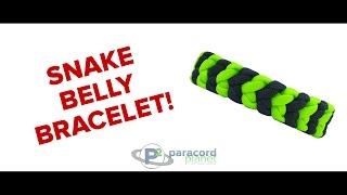 Video Paracord Tutorial: How To Make A Snake Belly Paracord Bracelet download MP3, 3GP, MP4, WEBM, AVI, FLV Mei 2018