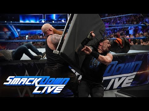 Erick Rowan and Luke Harper overpower Roman Reigns and Daniel Bryan: SmackDown LIVE, Sept. 17, 2019