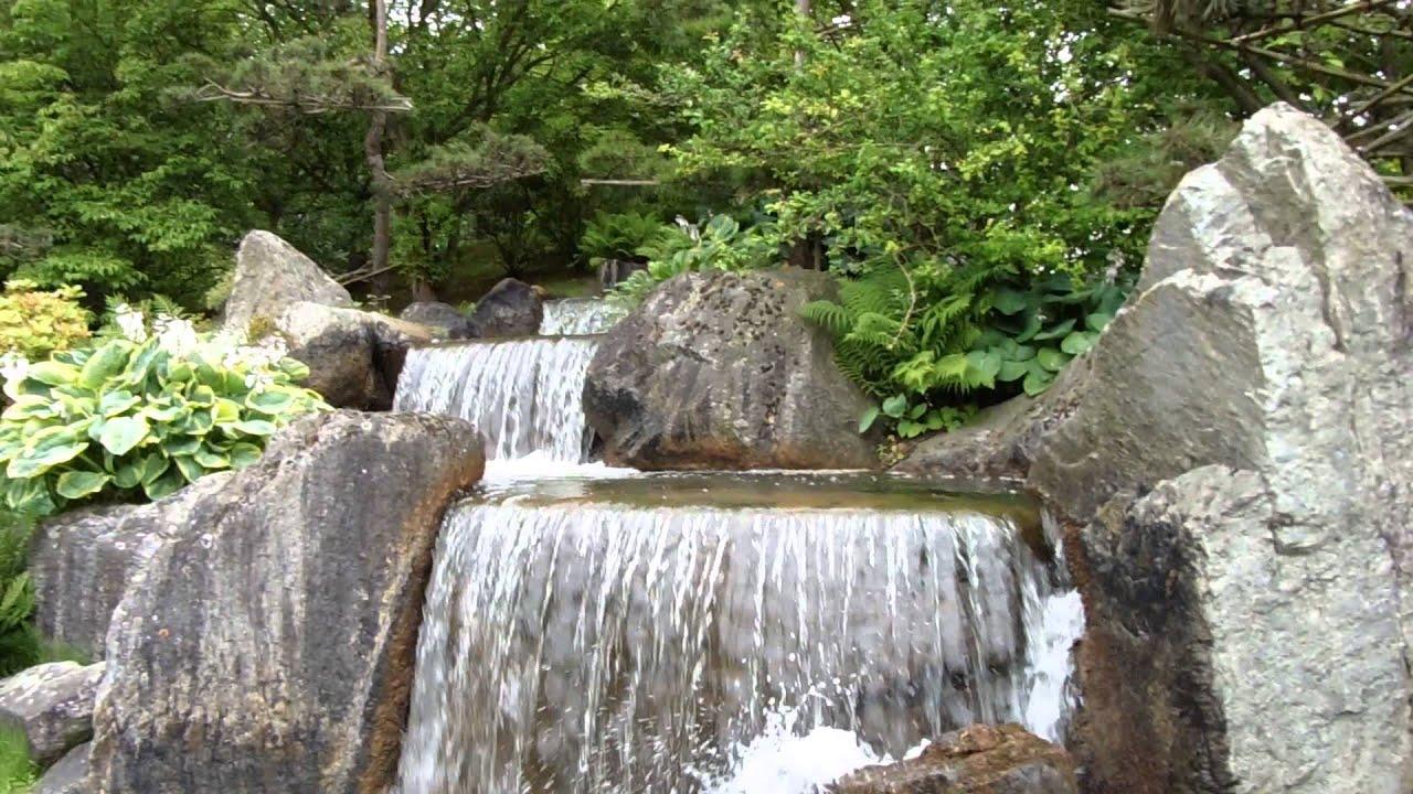 waterval japanse tuin hasselt 21 6 15 youtube