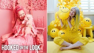 The Besties Obsessed With Pink & Yellow | HOOKED ON THE LOOK