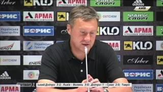 Александр Хацкевич: Фланговая игра принесла результат