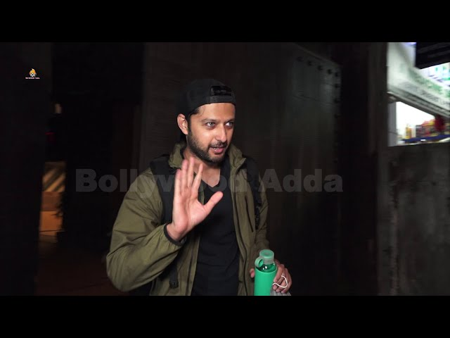 Varun Dhavan & Vatsal Seth Spotted At Gym For Workout